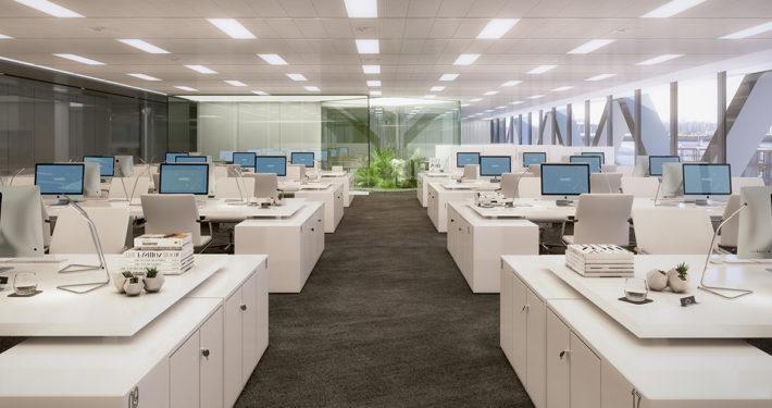 Oficinas modernas en alquiler Madrid