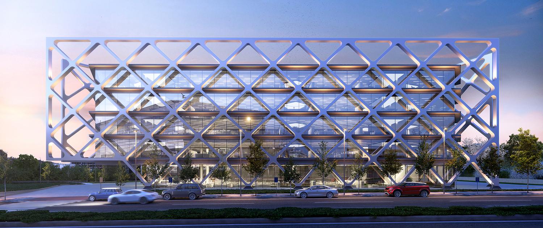 Edificio moderno en alquiler