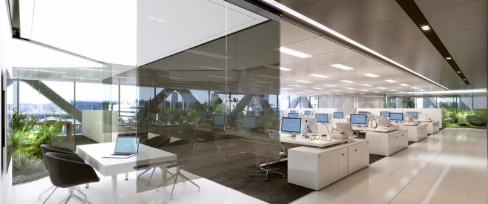 Alquiler oficinas modernas Madrid